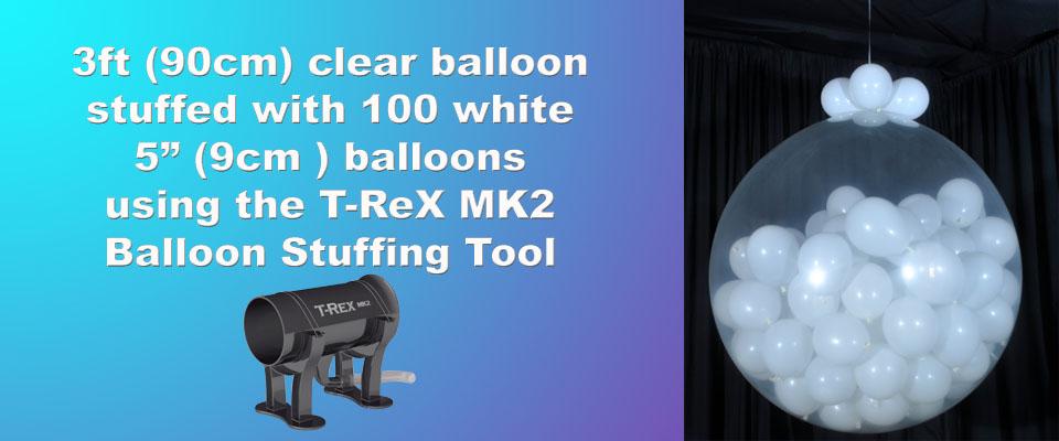 T-Rex MK2 Balloon Stuffing Tool