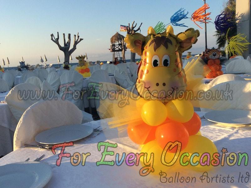Giraffe Centre Piece BACI 2014