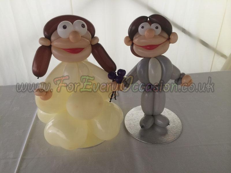 Bride & Groom Caricature