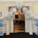 Romantic Top Table Arch