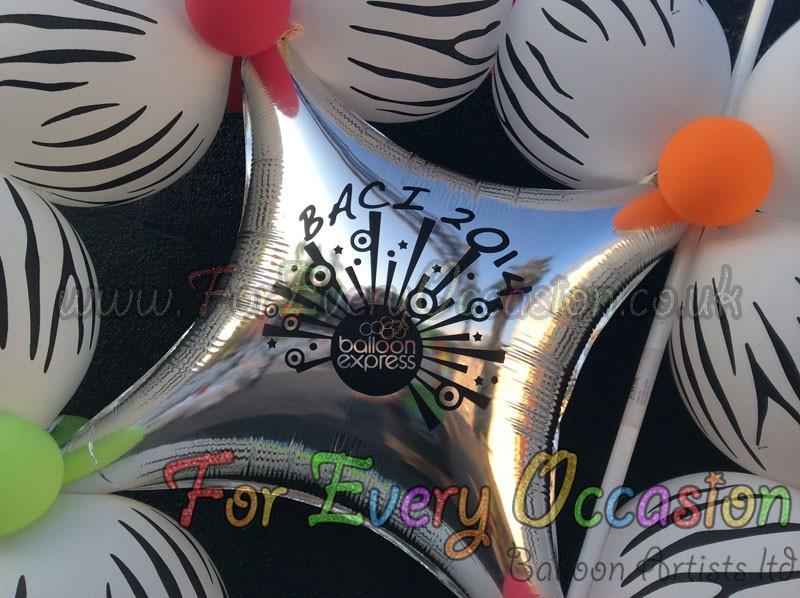 Stage Balloon Walls BACI 2014