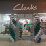 Clarks Logo Pillars